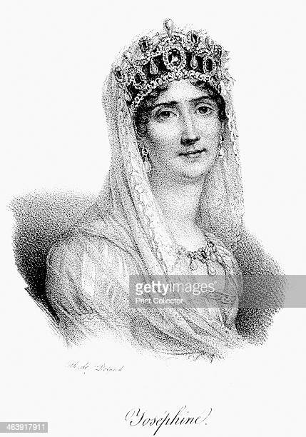 Josephine Empress of France c1830 Josephine married Napoleon Bonaparte in 1798 and was crowned Empress of France in 1804 Josephine failed to provide...