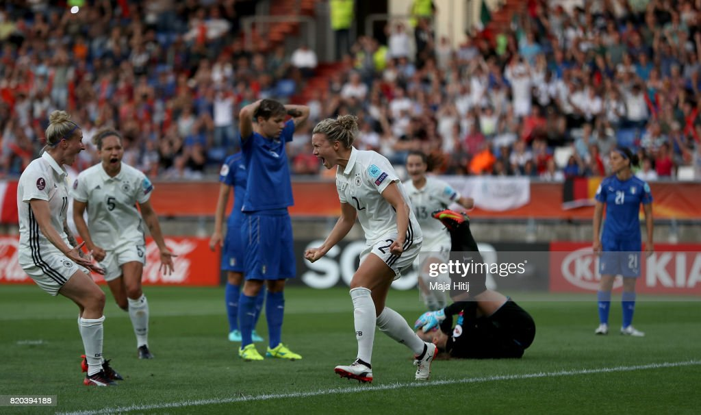 Germany v Italy - UEFA Women's Euro 2017: Group B : Photo d'actualité