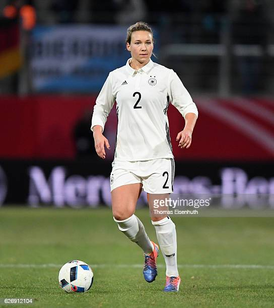 Josephine Henning of Germany during the women's international friendly match between Germany and Norway at community4you ARENA on November 29 2016 in...
