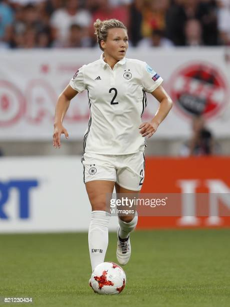 Josephine Henning of Germany women during the UEFA WEURO 2017 Group B group stage match between Germany and Italy at Koning Willem II stadium on July...
