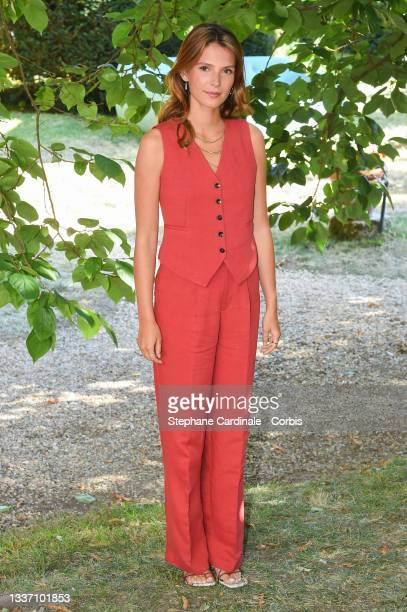 """Josephine Japy attends """"Eugenie Grandet"""" Photocall during the 14th Angouleme French-Speaking Film Festival - Day Six on August 29, 2021 in Angouleme,..."""