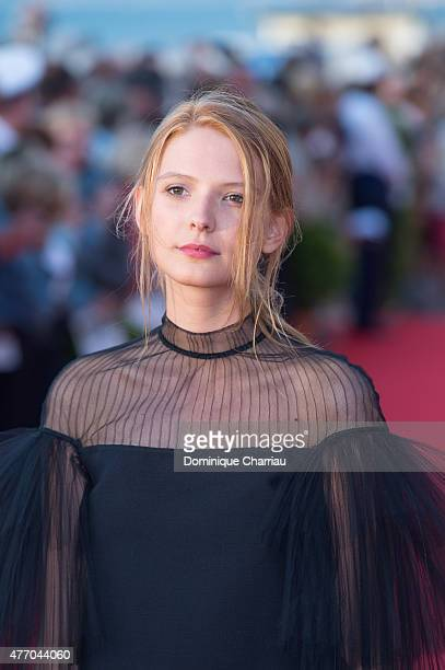 Josephine Japy attends the closing ceremony of the 29th Cabourg Film Festival on June 13 2015 in Cabourg France