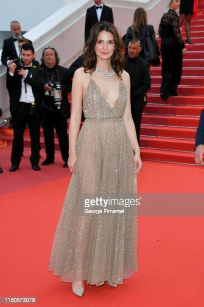 """Josephine Japy attends the screening of """"Le Belle Epoque"""" during the 72nd annual Cannes Film Festival on May 20, 2019 in Cannes, France."""