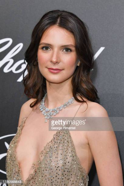 Josephine Japy attends the The Chopard Trophy event during the 72nd annual Cannes Film Festival on May 20 2019 in Cannes France