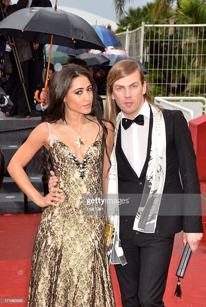 Josephine Jobert and Christophe Guillarme attend the Premiere of 'Jimmy P. (Psychotherapy Of A Plains Indian)' at Palais des Festivals during The 66th Annual Cannes Film Festival on May 18, 2013 in Cannes, France.