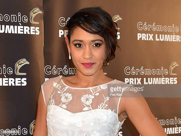 Josephine Jobert attends 'Les Lumieres 2015' Arrivals At Espace Pierre Cardin on February 2 2015 in Paris France