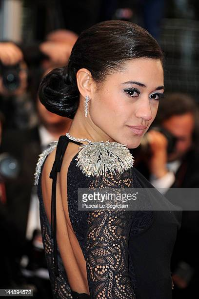 """Josephine Jobert attends the """"Amour"""" premiere during the 65th Annual Cannes Film Festival at Palais des Festivals on May 20, 2012 in Cannes, France."""