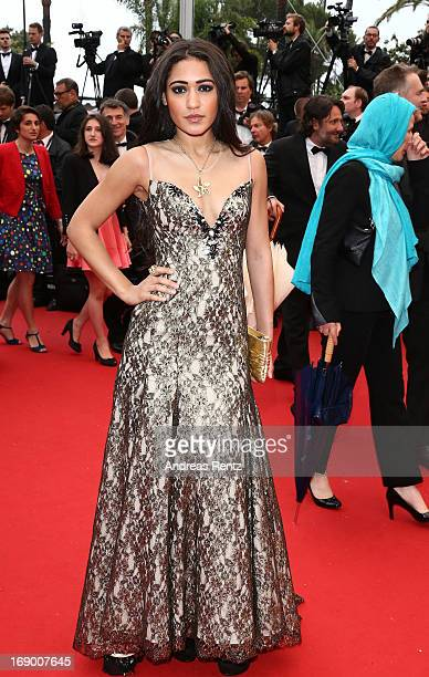 Josephine Jobert attends the 'Jimmy P ' Premiere during the 66th Annual Cannes Film Festival at the Palais des Festivals on May 18 2013 in Cannes...