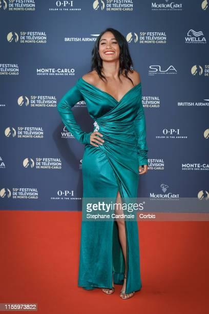 Josephine Jobert attends the opening ceremony of the 59th Monte Carlo TV Festival on June 14, 2019 in Monte-Carlo, Monaco.