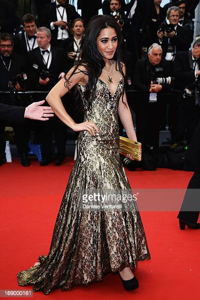 Josephine Jobert attends the Premiere of 'Jimmy P. ' at Palais des Festivals during The 66th Annual Cannes Film Festival on May 18, 2013 in Cannes,...