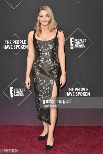 Josephine Langford attends 2019 E People's Choice Awards Arrivals at The Barker Hanger on November 10 2019 in Santa Monica California