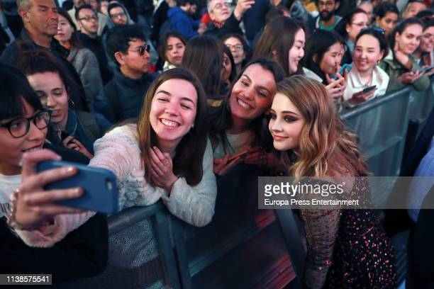 Josephine Langford attends 'After Aqui empieza todo' premiere on March 26 2019 in Madrid Spain