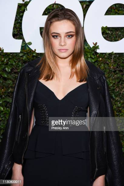 Josephine Langford attends Teen Vogue's 2019 Young Hollywood Party Presented By Snap at Los Angeles Theatre on February 15 2019 in Los Angeles...