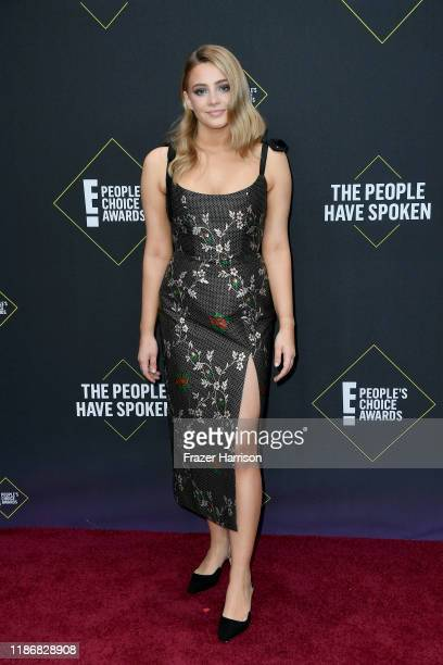 Josephine Langford attends the 2019 E People's Choice Awards at Barker Hangar on November 10 2019 in Santa Monica California