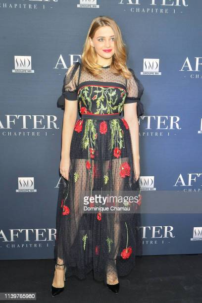 Josephine Langford attends the After Screening At Hotel Royal Monceau on April 01 2019 in Paris France