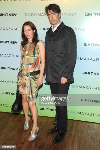 Josephine Meckseper and Richard Phillips attend 2010 WHITNEY ART PARTY Presented by BCBGMAXAZRIA at 82Mercer on June 9, 2010 in New York City.