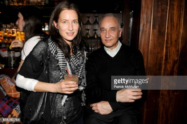Josephine Meckseper and Roland Flexner attend THE WHITNEY MUSEUM OF AMERICAN ART 2010 Biennial Artist Council Artist's Party at MxCo on February 22,...