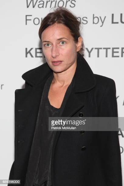 Josephine Meckseper attends X INITIATIVE Honors Paula Cooper and John Richardson at X Initiative on September 30, 2009 in New York.
