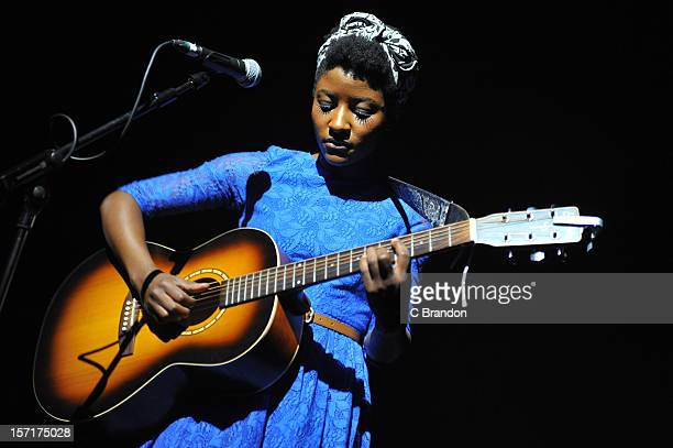 Josephine Oniyama performs at The Forum on November 29, 2012 in London, England.