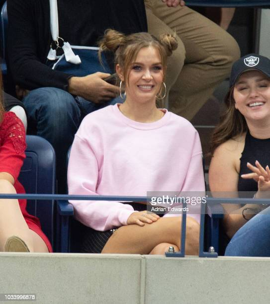 Josephine Skriver at Day 14 of the US Open held at the USTA Tennis Center on September 9 2018 in New York City