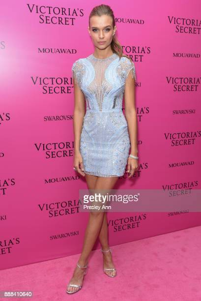 Josephine Skriver attends 2017 Victoria's Secret Fashion Show In Shanghai After Party at MercedesBenz Arena on November 20 2017 in Shanghai China