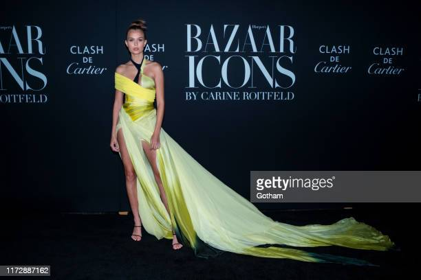 Josephine Skriver attends 2019 Harper's Bazaar ICONS at the Plaza Hotel on September 06 2019 in New York City