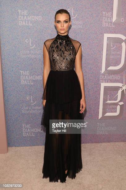 Josephine Skriver attends the 2018 Diamond Ball at Cipriani Wall Street on September 13 2018 in New York City