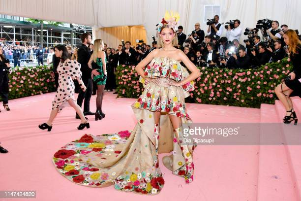 Josephine Skriver attends The 2019 Met Gala Celebrating Camp Notes on Fashion at Metropolitan Museum of Art on May 06 2019 in New York City