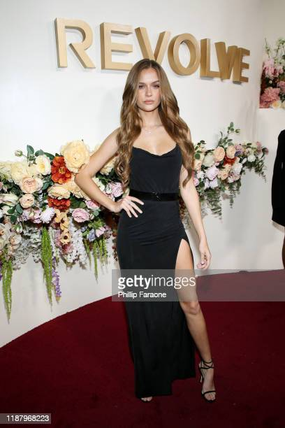 Josephine Skriver attends the 3rd annual #REVOLVEawards at Goya Studios on November 15 2019 in Hollywood California