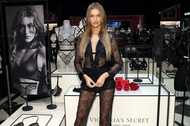 MA: Victoria's Secret Celebrates New Fall Collection With Angel Josephine Skriver In Boston