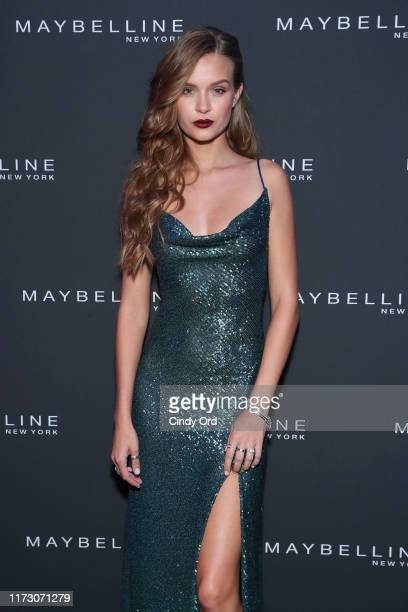 Josephine Skriver attends the Maybelline New York Fashion Week party on September 07 2019 in New York City