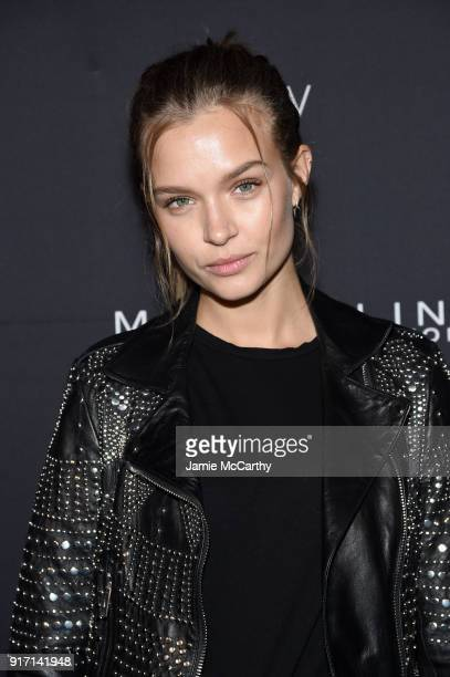 Josephine Skriver attends the Maybelline New York x V Magazine Party at the Nomo Soho Hotel on February 11 2018 in New York City