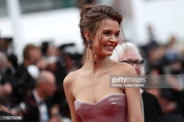 Josephine Skriver attends the screening of Once Upon A Time In Hollywood during the 72nd annual Cannes Film Festival on May 21 2019 in Cannes France