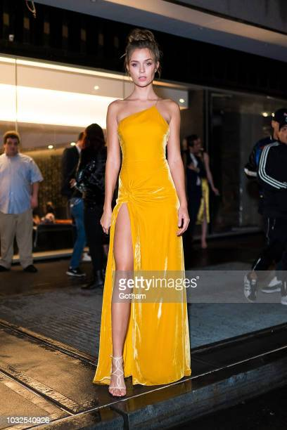 Josephine Skriver attends Vanity Fair's BestDressed 2018 in the Financial District on September 12 2018 in New York City