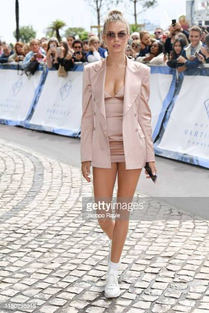 Josephine Skriver is seen during the 72nd annual Cannes Film Festival at on May 19 2019 in Cannes France