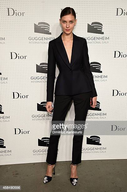 Josephine Van Delden attends the Guggenheim International Gala PreParty made possible by Dior on November 5 2014 in New York City