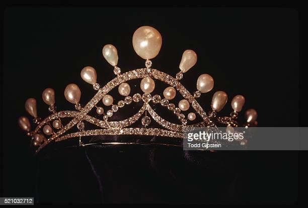 Josephine's Pearl and Diamond Tiara