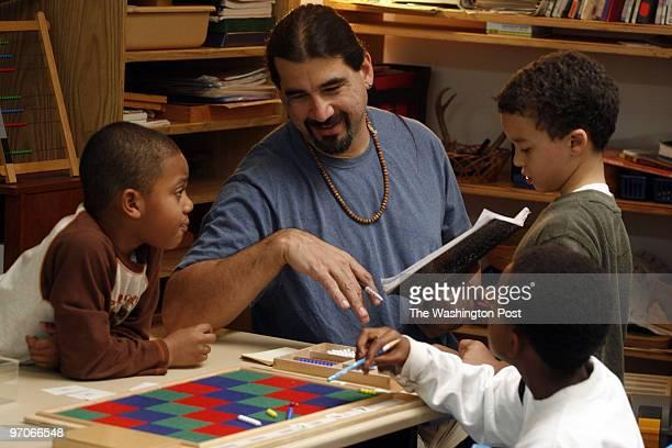 NEGATIVE# josephm 186212SLUGME/MONTESSORDATE11/28/06Henson Valley Montessor School Temple Hills MarylandPHOTOGRAPHERMARVIN JOSEPH/TWPCAPTIONMaria...