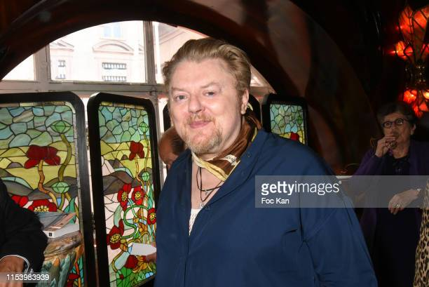 Josephus Thimister attends Meme Si le Soleil Se Cache Anne of BourbonTwo Siciles book signing at Maxims on June 5 2019 in Paris France