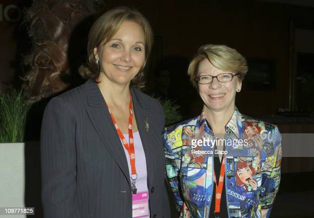 Josette Sheeran Shiner Under Secretary Economic Business and Agricultural Affairs and Jean Prewitt President and CEO of IFTA