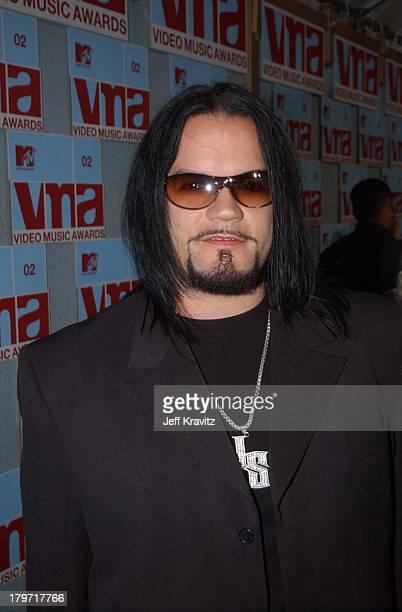 Josey Scott of Saliva during 2002 MTV Video Music Awards Arrivals at Radio City Music Hall in New York City New York United States