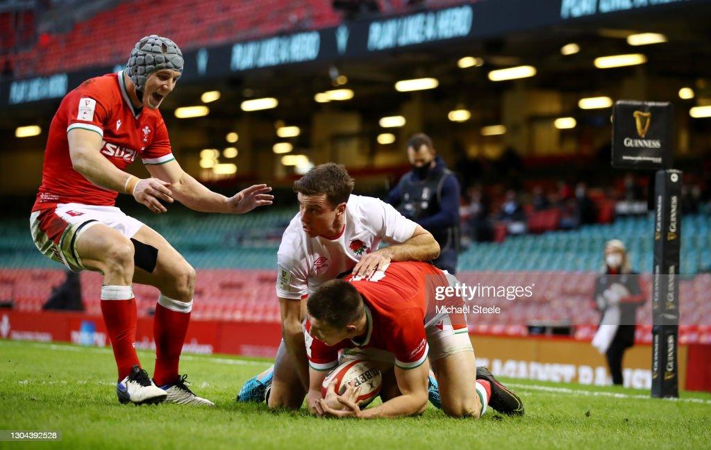Wales v England - Guinness Six Nations : ニュース写真