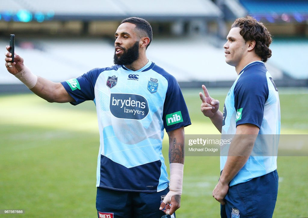 New South Wales Blues State of Origin Captain's Run