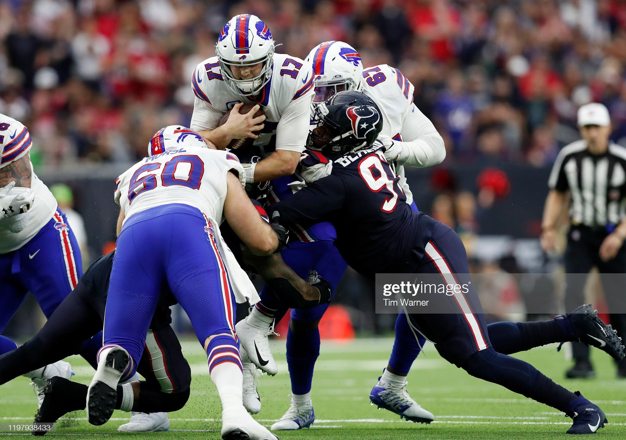 Wild Card Round - Buffalo Bills v Houston Texans : Foto jornalística