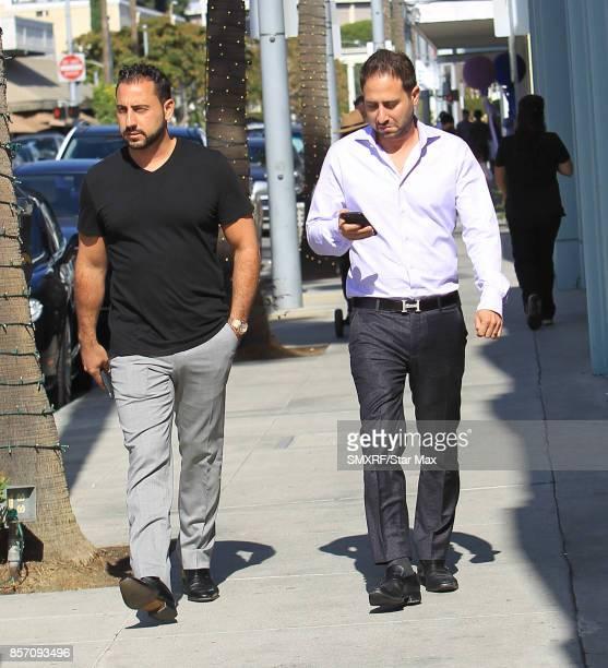 Josh Altman and Matt Altman are seen on October 2 2017 in Los Angeles California