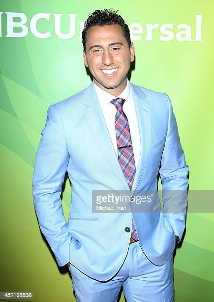 Josh Altman arrives at the 2014 Television Critics Association Summer Press Tour NBCUniversal Day 2 held at The Beverly Hilton Hotel on July 14 2014...