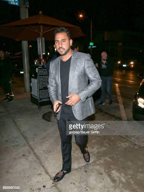Josh Altman is seen on December 19 2017 in Los Angeles California