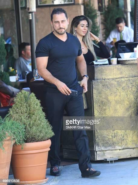 Josh Altman is seen on June 16 2017 in Los Angeles California
