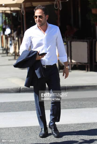 Josh Altman is seen on September 25 2017 in Los Angeles California
