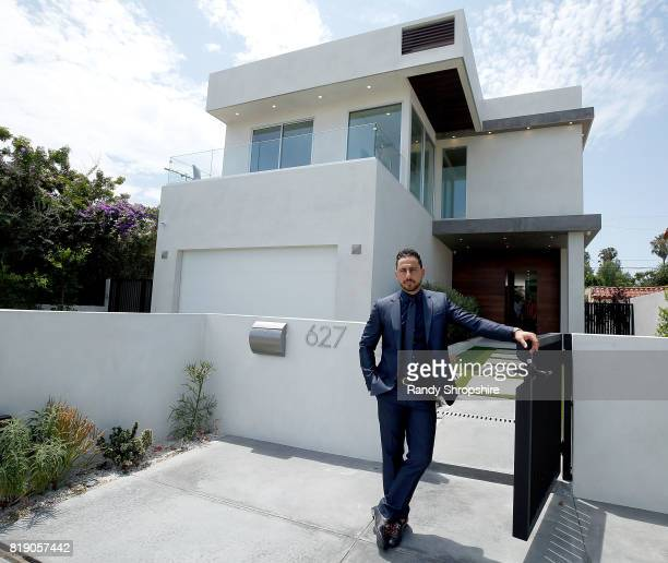 Josh Altman of 'Million Dollar Listing' hosts a showing on July 19 2017 in Los Angeles California